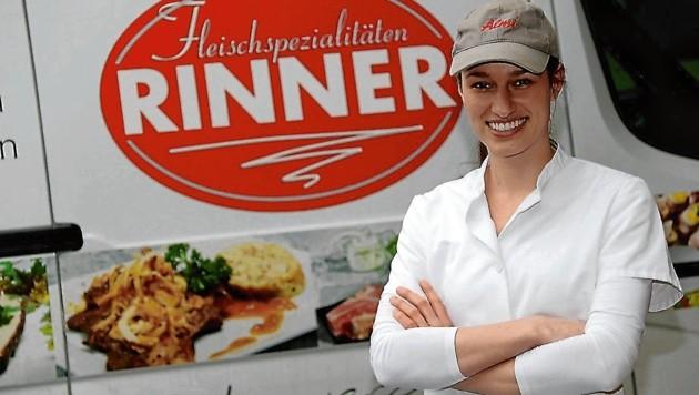 Melanie Rinner wird den Traditionsbetrieb ihrer Eltern weiterführen. (Bild: Christian Jauschowetz)