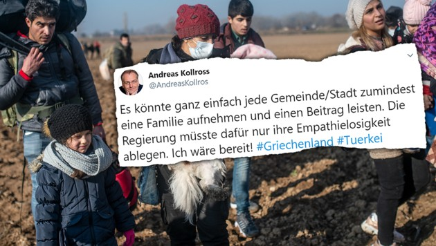 (Bild: AFP, twitter.com, krone.at-Grafik)