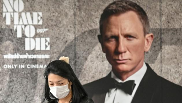 """""""Keine Zeit zu sterben"""" heißt der neue """"James Bond"""". In Zeiten der Corona-Epidemie wohl kein besonders passender Titel und vielleicht mit ein Grund, weshalb die Premiere des neuen """"Bond"""" nun offiziell auf November verschoben wird. (Bild: AFP)"""
