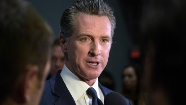 Kaliforniens Gouverneur Gavin Newsom (Bild: AFP)