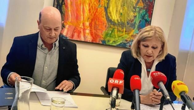 Untreueakt: Magistratsdirektor Peter Jost und Mathiaschitz suchen nach 1,7 Millionen Euro. (Bild: Wassermann Kerstin)