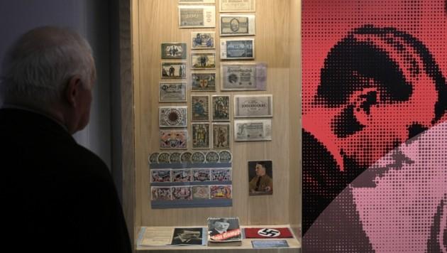 Nazi-Objekte im Holocaust-Museum in Buenos Aires (Bild: AFP)