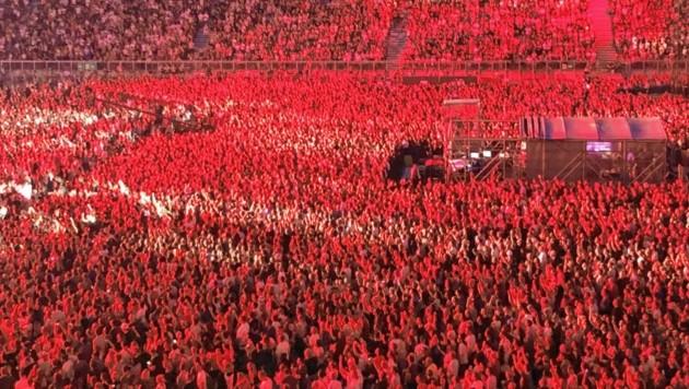 Nicht nur Popstars wie Ed Sheeran oder Bon Jovi füllen das Wörthersee-Stadion: Heuer sind es auch die Militärmusiker. (Bild: Rosenzopf Christian)