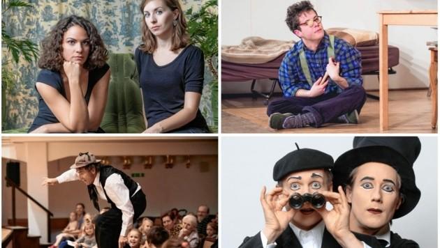 Das bunte Programm am Theaterfestival in Gmünd bietet Kultur und Spaß für Alt und Jung. (Bild: zVg)
