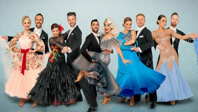 """Im Herbst soll im ORF-""""Ballroom"""" wieder getanzt werden. (Bild: ORF)"""