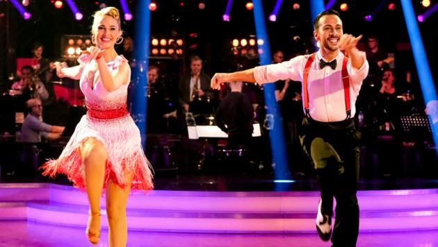 Silvia Schneider und Danilo Campisi (Bild: ORF)