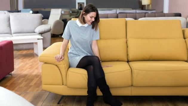Lieferung nach dem Möbelkauf macht Freude (Symbolbild). (Bild: ©JackF - stock.adobe.com)