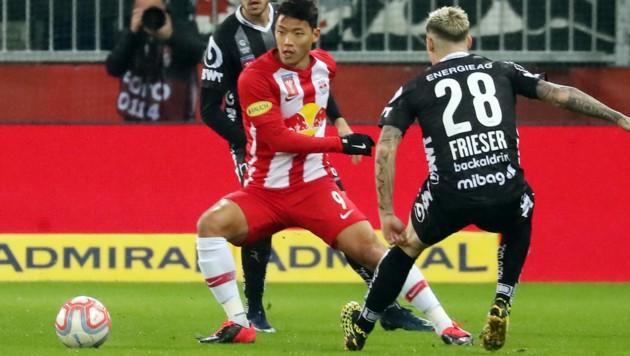 Salzburg steht nach einem 1:0-Sieg über den LASK im Cup-Finale! Die Einzelkritik zur Leistung der Salzburger. Der Notenschlüssel: 6 = Teamreif, 5 = sehr stark, 4 = stark, 3 = Durchschnitt, 2 = schwach, 1 = nicht sein Tag, 0 = zu kurz eingesetzt. (Bild: APA/KRUGFOTO)