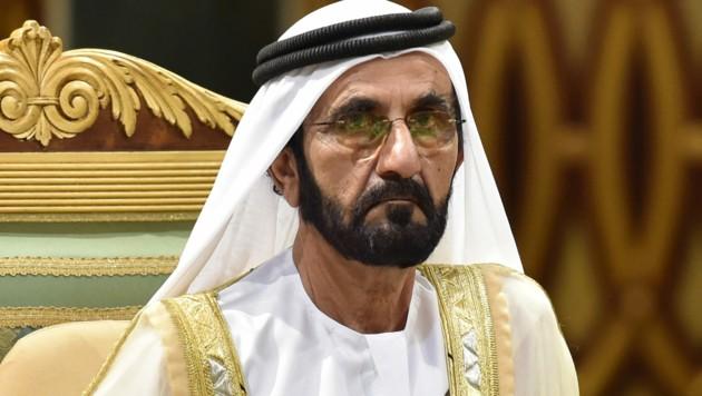 Der Emir von Dubai, Scheich Mohammed bin Raschid Al Maktum (Bild: AFP)
