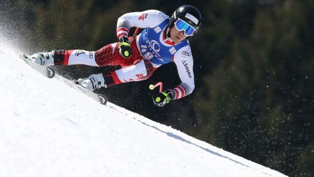 Lukas Feurstein wird in Narvik nicht mehr auf die Super-G-Skier steigen. (Bild: GEPA pictures)