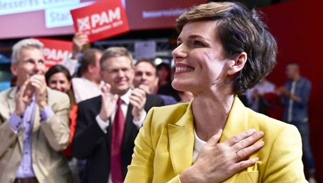 """Konkret geht es um die Veranstaltung """"GewerkschafterInnen in der SPÖ starten in die heiße Phase des Wahlkampfs"""", die am 9. September 2019 mit der Parteivorsitzenden Pamela Rendi-Wagner in Wien stattfand. (Bild: APA/HANS PUNZ)"""