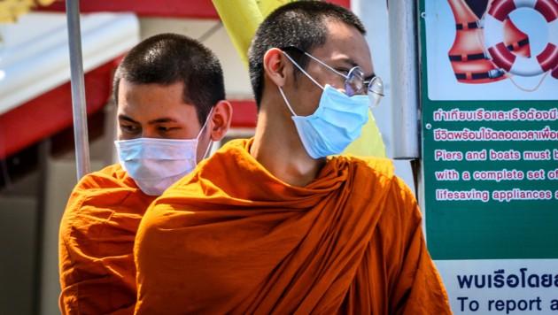 Mönche in Thailand (Bild: AFP)