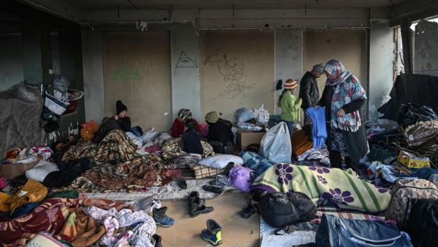 Migranten in Edirne