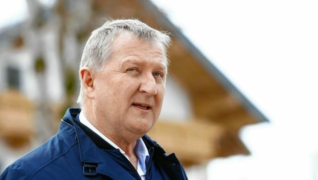 Bürgermeister Peter Brandauer steht in der Kritik (Bild: GERHARD SCHIEL)