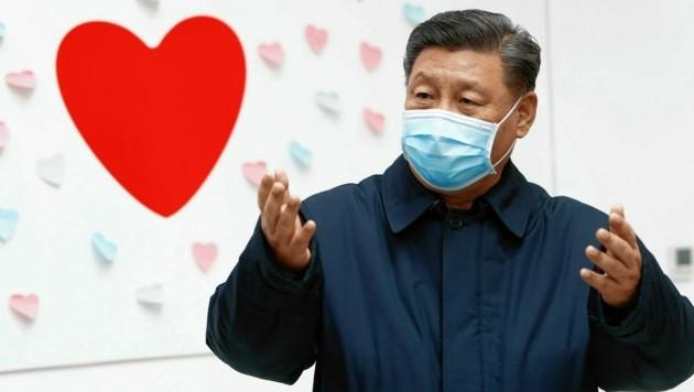 Staatschef Xi Jinping: Hoher Preis für Systemversagen (Bild: AP)
