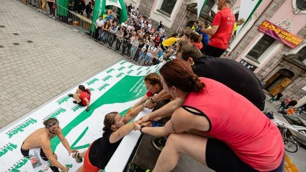 Schon im Vorjahr zeigten kleine wie große Athleten beim Innsbruckathlon, was in ihnen steckt. (Bild: Tom Bause - bause.at)