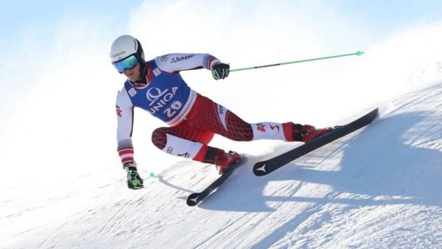 Starker Auftakt: Stefan Rieser fuhr in der Abfahrt bei der Junioren-WM in Narvik aufs Podest. (Bild: GEPA pictures/ Andreas Pranter)
