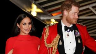 Herzogin Meghan und Prinz Harry (Bild: AFP)