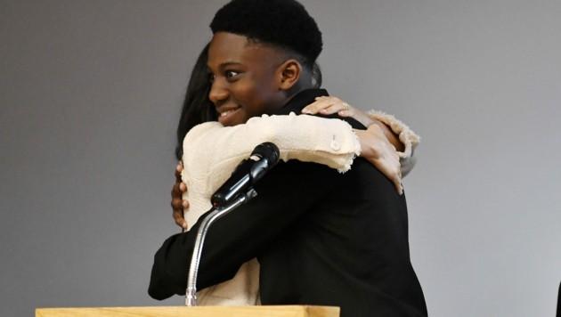 Aker Okoye ist völlig hingerissen von Herzogin Meghan. (Bild: AFP )