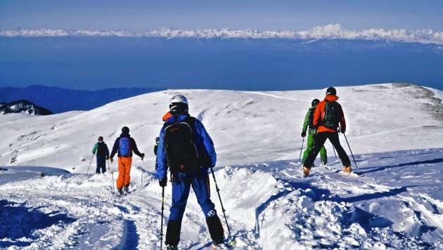 Großer Kaukasus im Blick (Bild: Wallner Hannes)