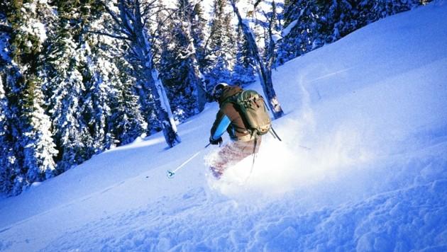 Abseits der Piste haben sich am Sonntag zwei Skifahrer verirrt (SYMBOLFOTO) (Bild: Symbolbild/Wallner Hannes)