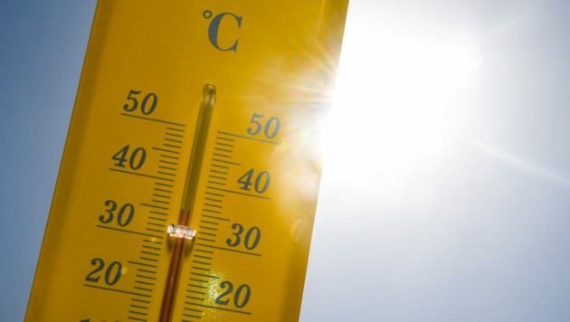 In Spanien wird es sehr warm, in Andalusien soll das Thermometer bis auf 34 Grad Celsius ansteigen. (Bild: AFP)