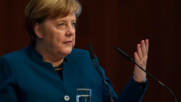 Die deutsche Bundeskanzlerin Angela Merkel (CDU) (Bild: AFP)