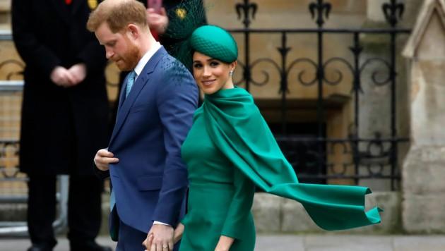 Harry und Meghan (Bild: AFP)