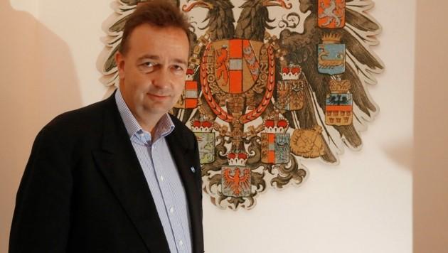 Kaiserenkel Karl Habsburg (Bild: KRONEN ZEITUNG)