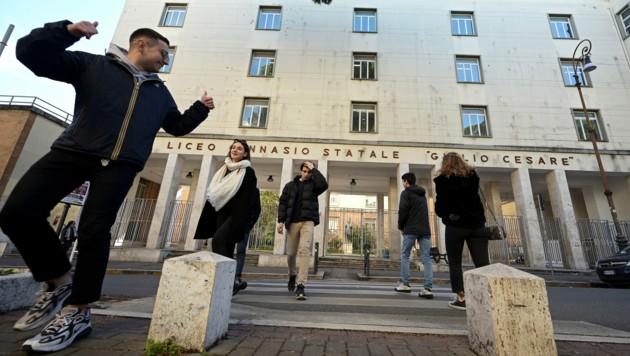 Wegen der Ausbreitung des Coronavirus will Italien die Schulen und Universitäten des Landes bis mindestens 3. April geschlossen halten. (Bild: AFP)