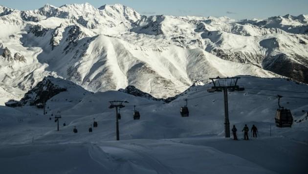Das Skigebiet Val di Sole im italienischen Trentino (Bild: AFP)
