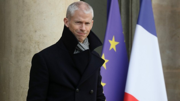 Frankreichs Kulturminister Franck Riester hat sich mit dem Coronavirus infiziert. (Bild: AFP)