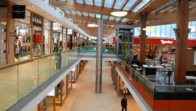 In den Geschäften und auf den Gängen des Outlet-Centers herrschte kaum Betrieb. (Bild: Andreas Fischer)