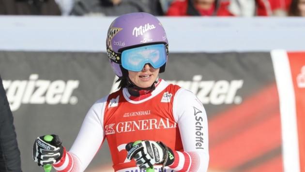 Auch für Anna Veith ist die Saison vorbei - Überreizung im Knie. (Bild: Birbaumer Christof)