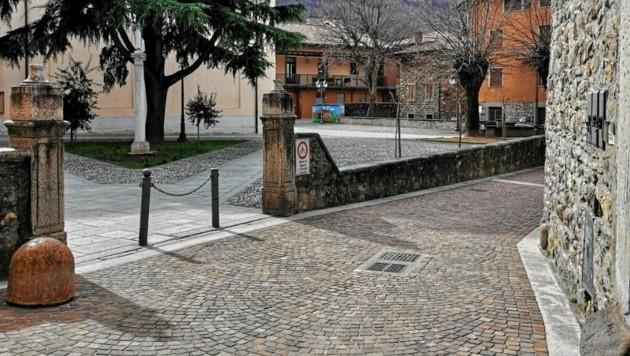 Die Straßen des malerischen Dörfchens Esine sind leer gefegt. (Bild: zVg)