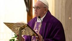 Papst Fransziskus (Bild: AFP)