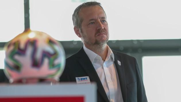 LASK-Geschäftsführer Andreas Protil (Bild: GEPA )