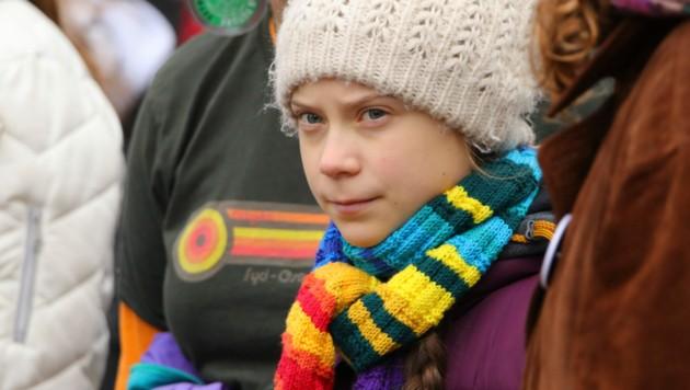 Greta Thunberg (Bild: APA/AP)