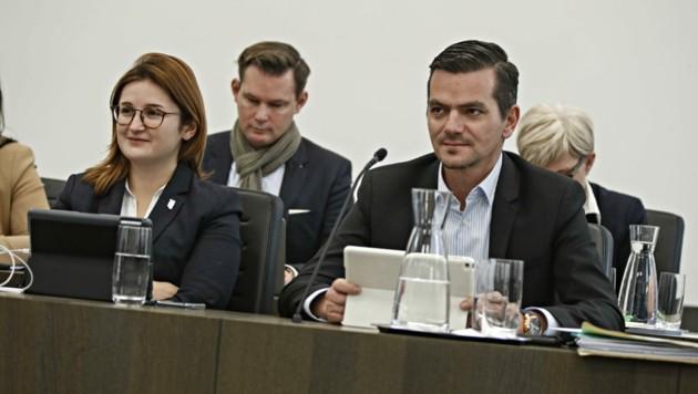 Gerald Forcher gibt sein Mandat auf. Marlene Svazek (FPÖ) kritisiert dafür die SPÖ-Spitze. (Bild: Tschepp Markus)