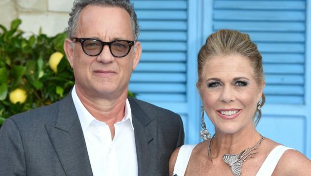Hollywood-Star Tom Hanks und seine Ehefrau Rita Wilson (Bild: AFP )