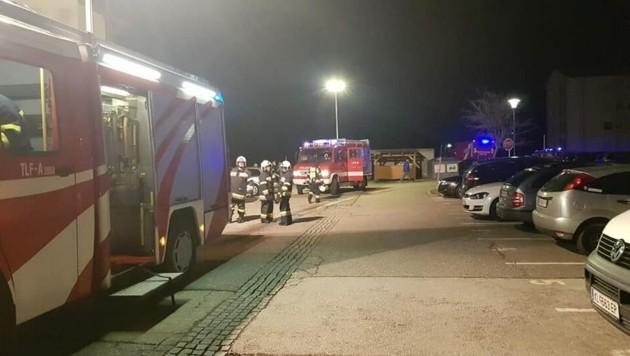 Die Feuerwehren Feistritz im Rosental, Suetschach und Ludmannsdorf standen im Einsatz. (Bild: FF Feistritz im Rosental)