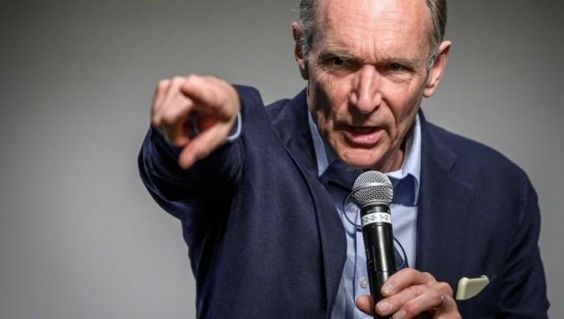 Tim Berners-Lee (Bild: AFP)