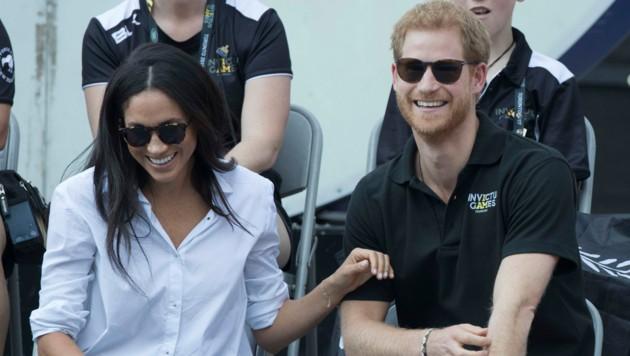 Bei den Invicturs Games in Toronto im Jahr 2017 machte Prinz Harry seine Liebe zu der Schauspielerin Meghan Markle publik. (Bild: www.PPS.at)
