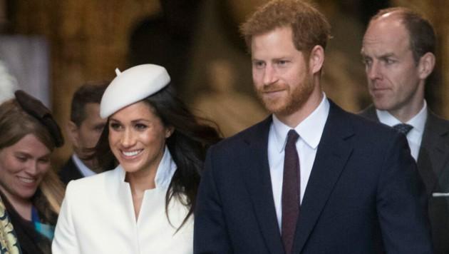 Prinz Harry und Herzogin Meghan sind glücklich. (Bild: www.PPS.at)