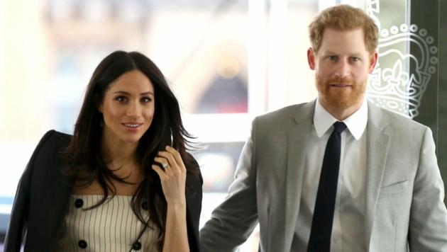 Harry und Meghan sind ein Team. (Bild: www.PPS.at)