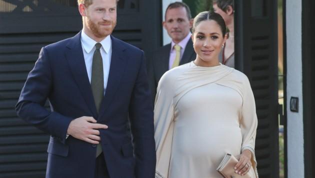 Harry und Meghan freuen sich auf ihr erstes Kind - doch die Schwangerschaft zeigte der Herzogin ihre Grenzen. Sie fühlte sich in Großbritannien allein und unverstanden. (Bild: www.PPS.at)