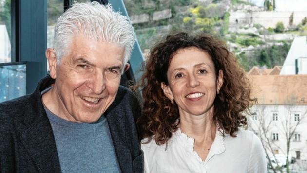 Künstler Bill Fontana und Kuratorin Katrin Bucher Trantow (Bild: Martin Grabner)