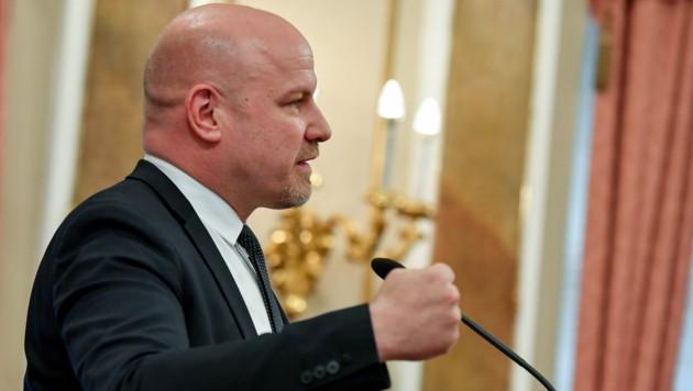 Peter Binder: Kämpferisch für Nachschub an Kassenärzten (Bild: © Harald Dostal)