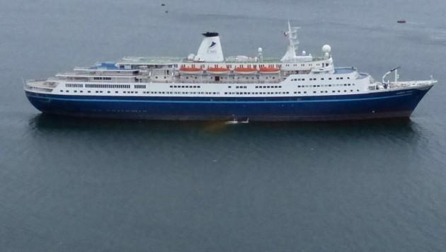 Das Kreuzfahrtschiff Marco Polo (Archivbild) (Bild: AFP)