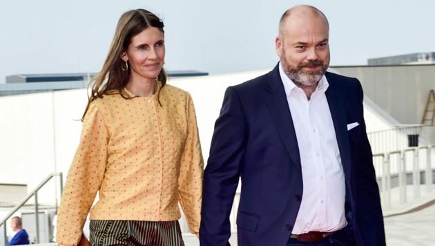 Anders Holch Povlsen und Ehefrau Anne Holch Povlsen (Bild: AFP)
